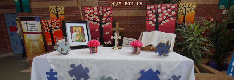 St. Jude Catholic School alter